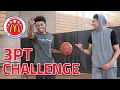 3 POINT CHALLENGE vs. #1 RANKED HS ALL-AMERICAN PG! ft. Jaylen Hands & JesserTheLazer