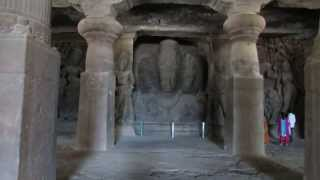 Elephanta Caves inside View