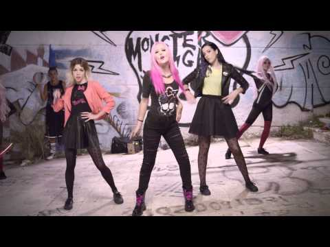Somos Monster High con Sweet California  Videoclip Oficial