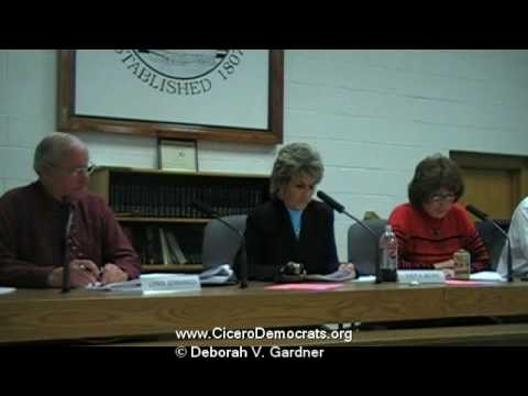 Cicero NY Appoints An Attorney For The Zoning Board Of Appeals
