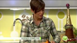 Egzotikus gyümölcsök, melyeket érdemes fogyasztani - 2014.11.24. - tv2.hu/fem3cafe