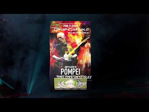 David Gilmour - Live at Pompeii 2016 Deluxe Box Set Unboxing