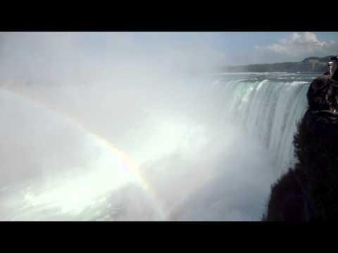 De Niagra Falls met Annika en Linda (19 juli 2010)!