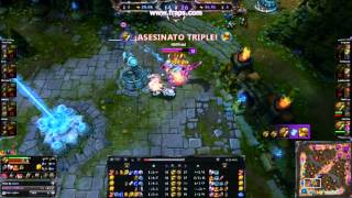 League Of Legends | Renekton Pentakill | One for All/ Uno para Todos