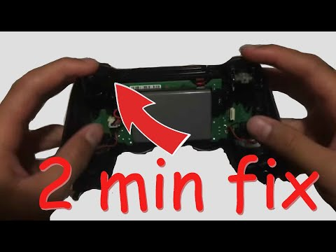 how to fix L2,L1,R2,R1 button (If unfunctioning) Ps4 controller