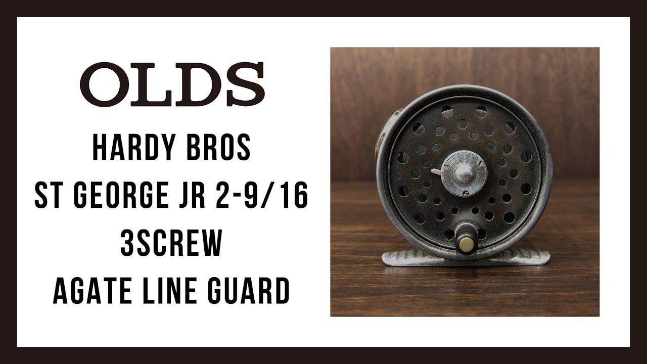 Download Hardy Bros St George Jr 2-9/16 3screw Agate Line Guard|ハーディ ブロス セントジョージ ジュニア 2 9/16 3スクリューラッチ|OLDS