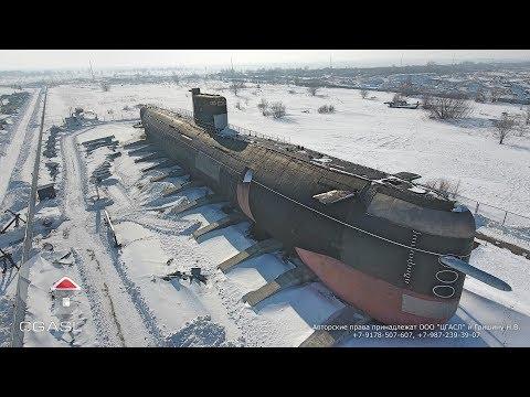 Аэросъемка музея техники имени К.Г.Сахарова (Тольятти/Tolyatti)