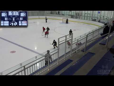 10u DC Nforcers 1st Tournament Game Vs Jersey Penguins - 10.12.2019