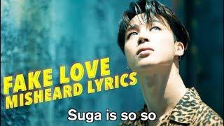 Video BTS FAKE LOVE Misheard Lyrics download MP3, 3GP, MP4, WEBM, AVI, FLV Agustus 2018