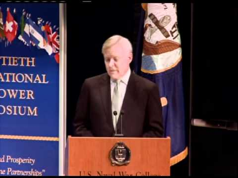 Secretary of the Navy Ray Mabus Speaks at Int'l Seapower Symposium