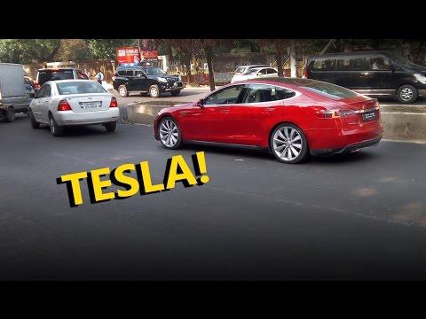 Tesla Model S in Bangladesh!