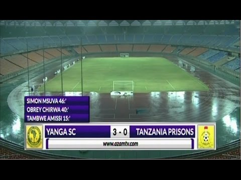 ALL GOALS: Yanga vs Prisons April 22 2017, Full Time 3-0