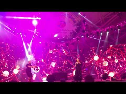 Hadise prenses festival Dubai 2017