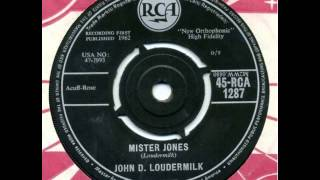 Watch John D Loudermilk Mister Jones video
