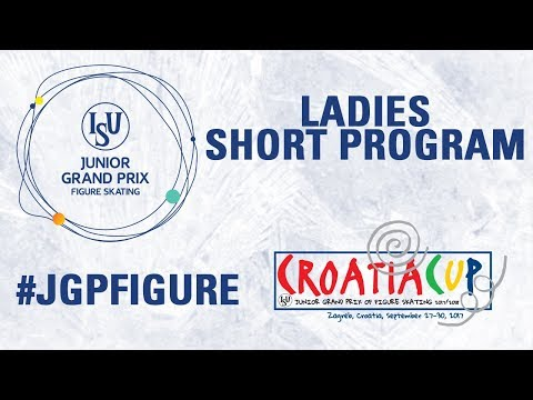 Ladies Short Program - Zagreb  2017