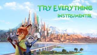 Zootopia - Try Everything - Official Instrumental ( Lyrics )