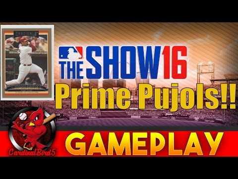 MLB The Show 16 Diamond Dynasty H2H - Prime Albert Pujols Gameplay
