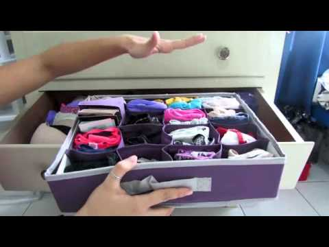 C mo organizar ropa interior mini tips youtube - Organizar ropa bebe ...
