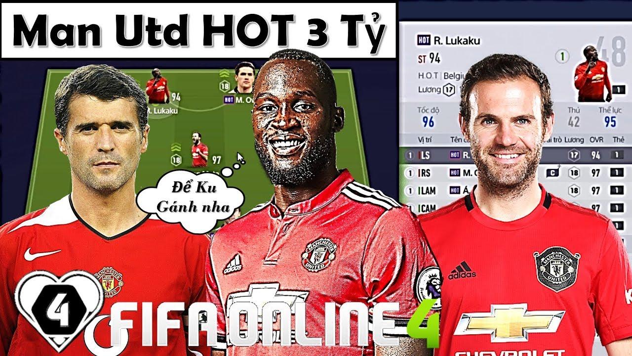 """Xây Dựng & Trải Nghiệm Đội Hình """" Manchester United HOT 3 TỶ """" XUẤT SẮC NHẤT + Tặng Luôn ACC"""