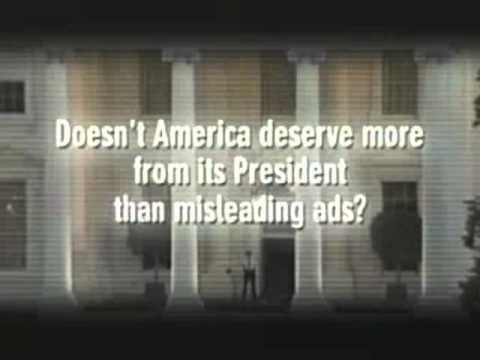 "John Kerry for President 2004 Ad-""Bush Misleading America"""