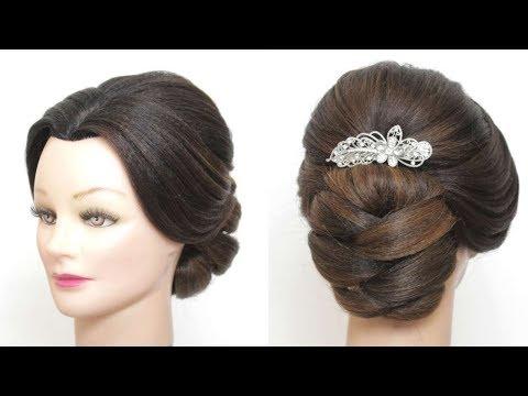 Wedding Updo Tutorial.  Bridal Prom Hairstyles For Long Hair thumbnail
