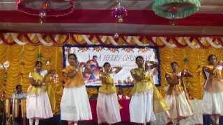 yahova na mora lalinchenu.. Telugu christmas Dance 2013
