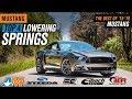 The 4 Best Mustang Lowering Springs for 2015-2017 Mustang GT V6 EcoBoost