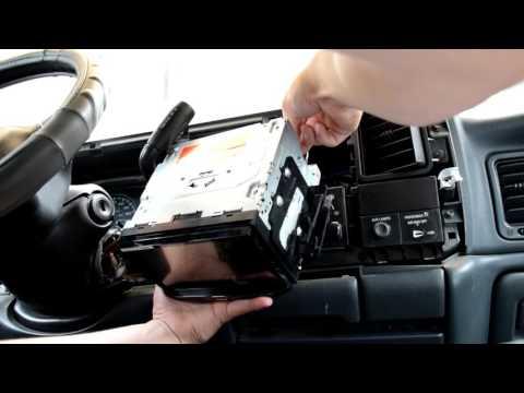 1995 - 2001 Sierra 2500HD Double Din Stereo Install
