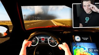 Storm Chasers - Part 2 - DRIVING INTO A TORNADO