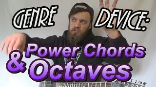 Genre Device: Rock/Post-Hardcore Power Chords & Octaves Guitar Lesson