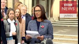 【英EU離脱】議会承認が必要と英高等法院判断 原告は歓迎