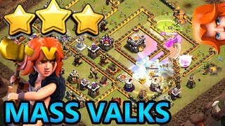 VALKYRIES ATTACK | CLASH OF CLANS TH11 ATTACK STRATEGY