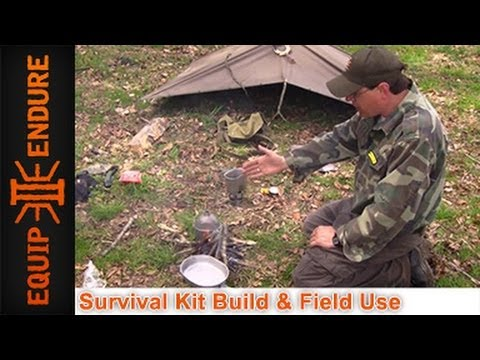 Surplus Survival Kit for $100 Bucks Field Use by Equip 2 End