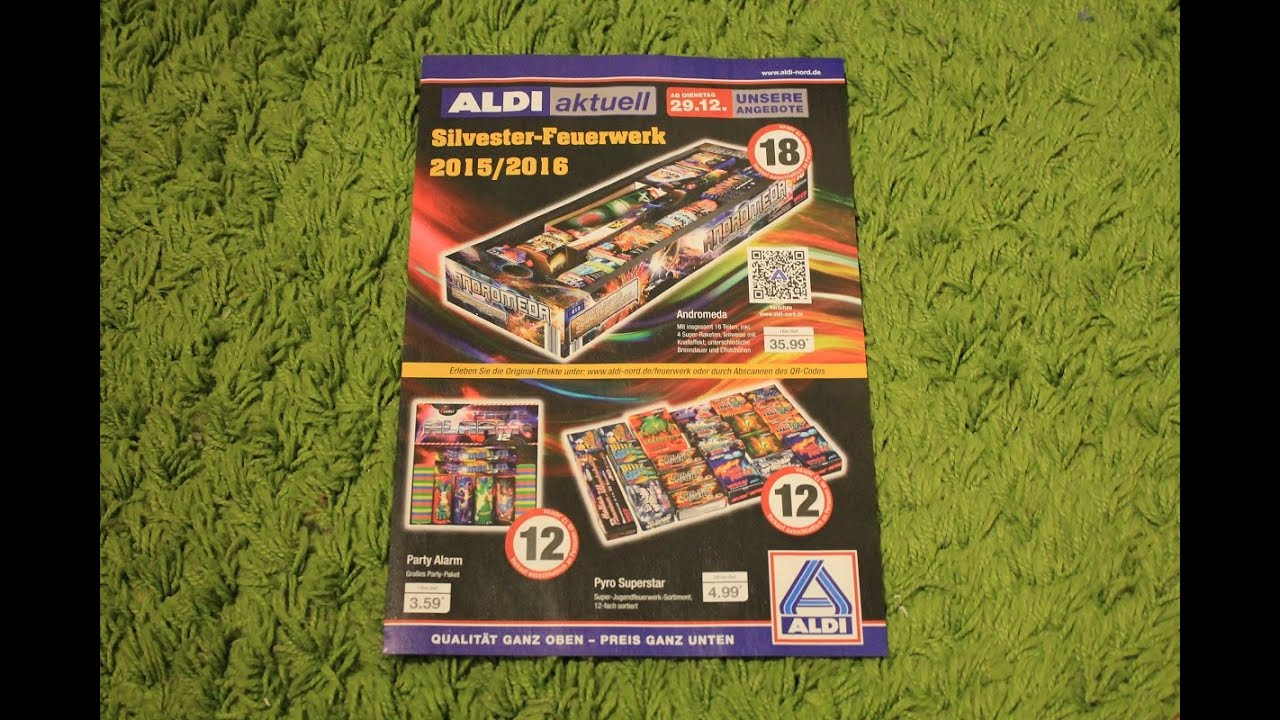 Aldi nord silvester prospekt 2015 2016 youtube for Gartenpool aldi nord 2015