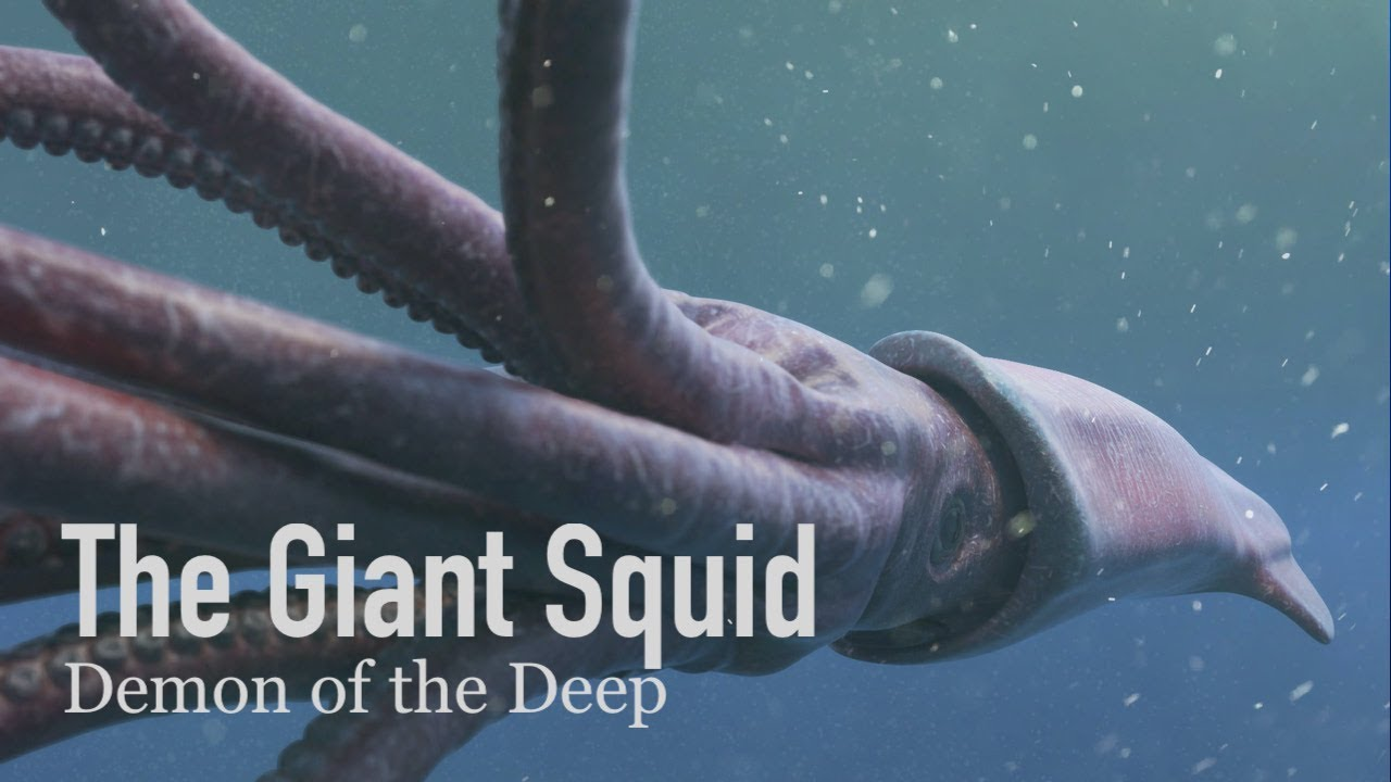 The Giant Squid, a Demon of the Abyss