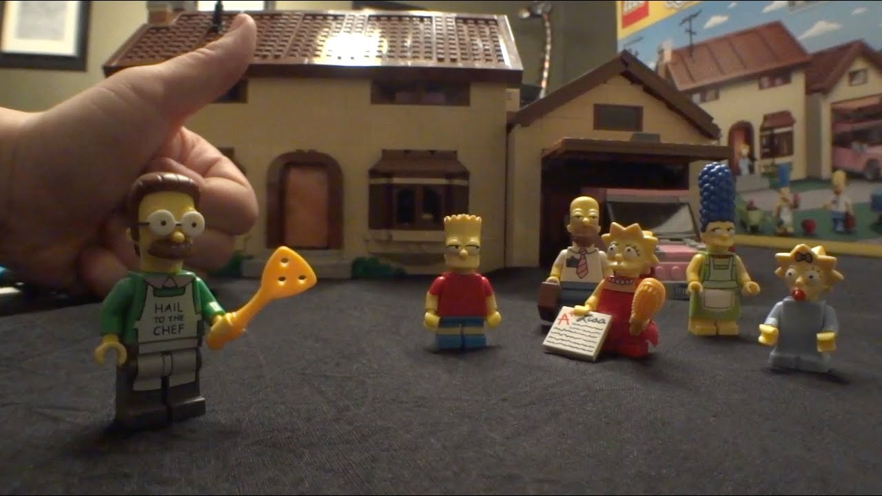 Lego Simpsons Sets 2014 The Simpsons House Build Review