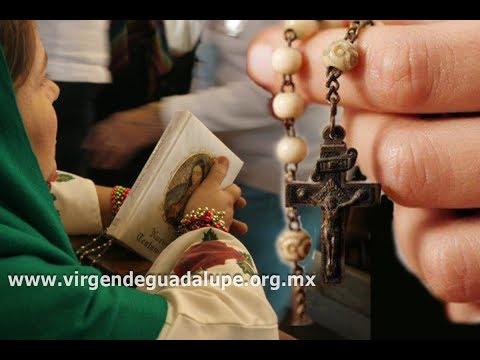 Rezo del Santo Rosario,  17:00 hrs., 10 de diciembre de 2018.