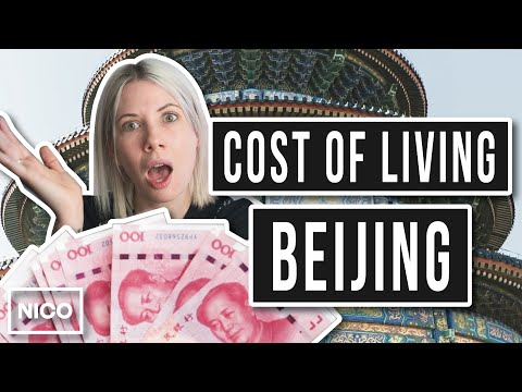 Cost of Living in China - Beijing Weekly Expenses