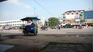 Kamphaeng Phet , Thailand カムペーンペット タイ 時計台前