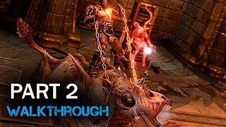 God of War III Deimos walkthrough Part 2 PS4 Gameplay 1080p 60fps