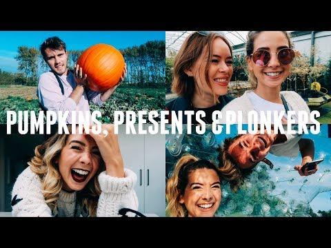PUMPKINS, PRESENTS & PLONKERS