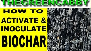 HOW TO ACTIVATE BIOCHAR EASY - TOP 3 WAYS TO INOCULATE BIO CHAR TERRA PRETA CHARCOAL