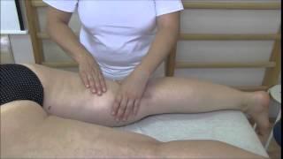 5. Klasická masáž dolní končetiny zezadu