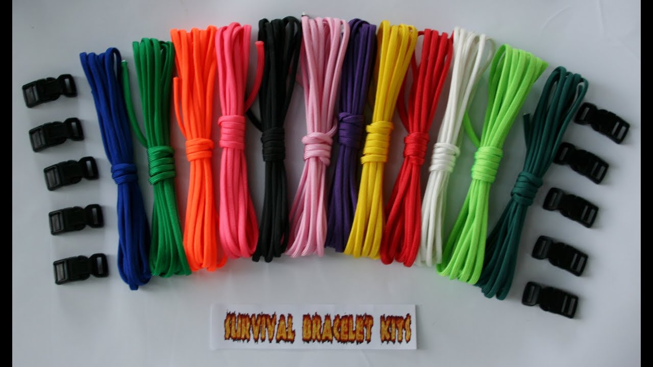 Paracord Supplies Tutorial Learn More About What You Need