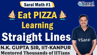 Straight Lines I Introduction I Class 11, JEE – N.K.Gupta Sir