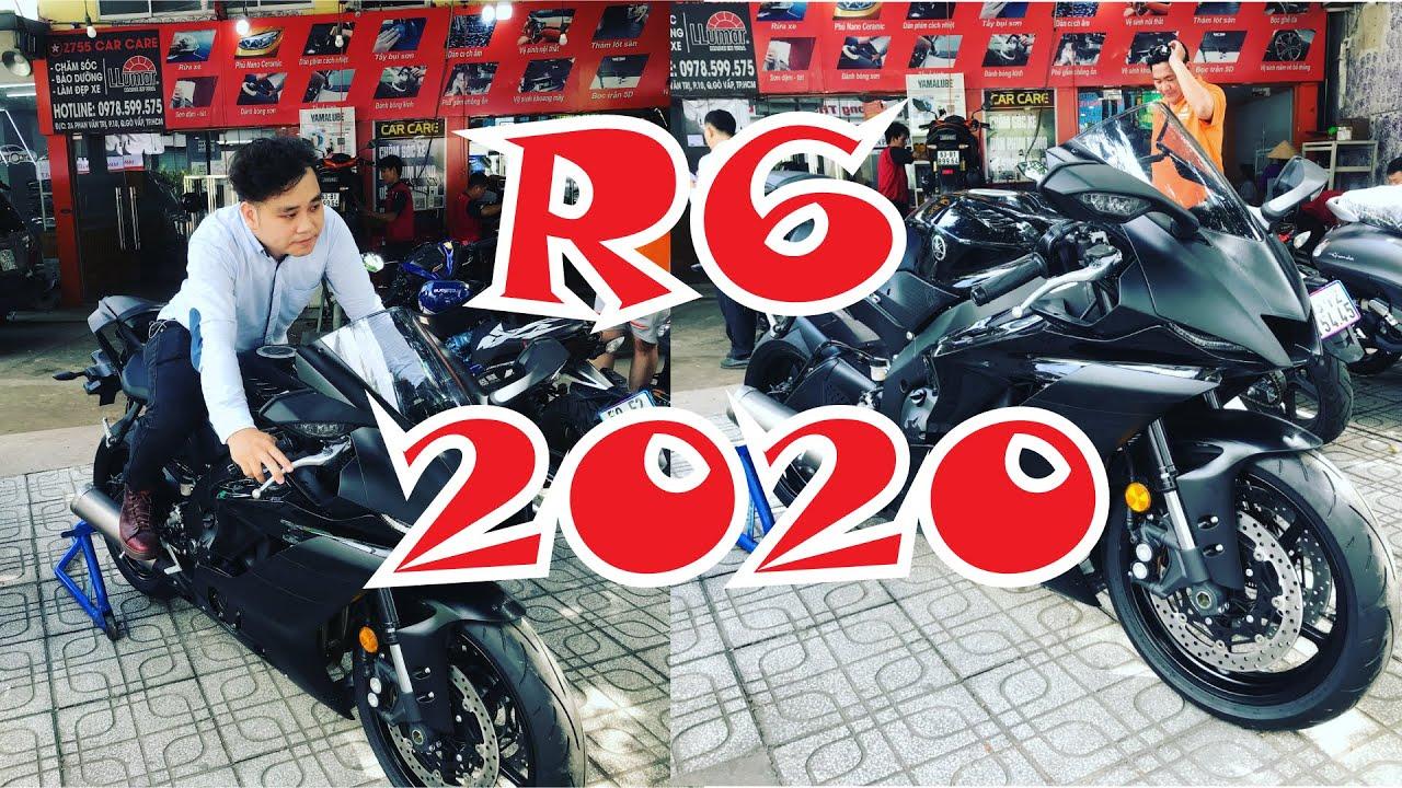 """Yamaha R6 2020 """"Ngựa hoang"""" về Việt Nam!"""