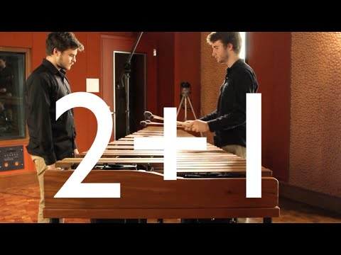 2+1 Marimba Duo, By Ivan Trevino
