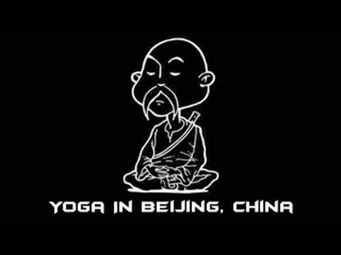 Yoga In Beijing, China