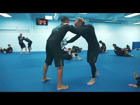 Tye Ruotolo Training No-Gi With Josh Hinger at Atos Jiu-Jitsu
