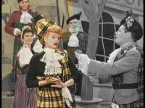 I Love Lucy Color Test Footage Youtube